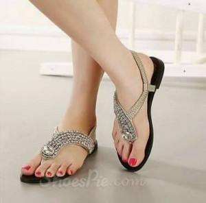 Grosir Sepatu Wanita Murah - Flat Permata NR11