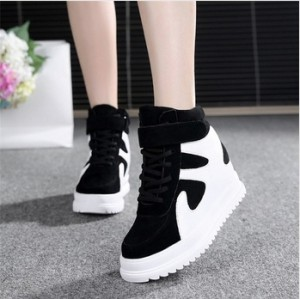 Grosir Sepatu Wanita Murah - Sneacker Sapi Hitam
