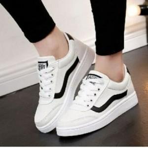 Grosir Sepatu Wanita Murah - Kets Vans Replika Putih