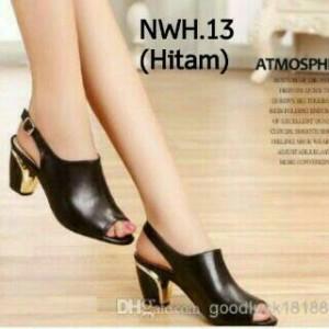 Grosir Sepatu Wanita Murah - High Heels YD21 Hitam