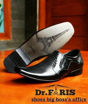 SEPATU PANTOFEL DR FARIS 004 BLACK