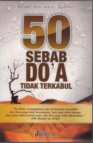 Buku 50 Sebab Doa Tidak Terkabul
