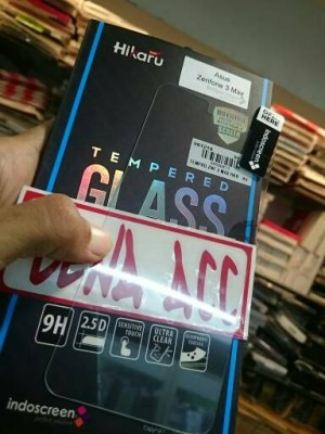 Tempered Glass Zenfone 3 Max HIKARU INDOSCREEN