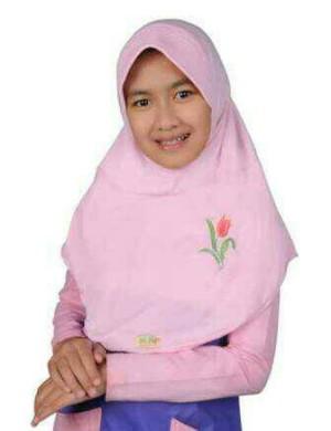 Jilbab Delima Anak JAB 17A No. 6