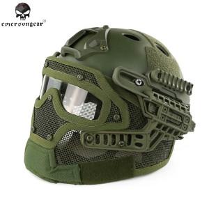 helmet/helm tactical airsofter G-4 green