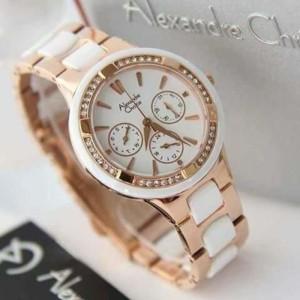 jam tangan cewek Alexandre christie 2299 Original
