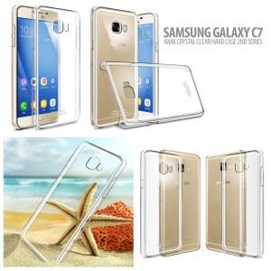 Samsung Galaxy C7 - Imak Crystal Clear Hard Case 2nd Series