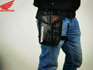 motorcycle bag package thigh arm