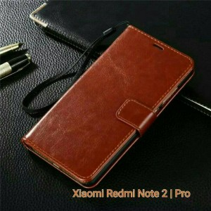 Flip Cover Xiaomi Redmi Note 2 Note2  / Walet Leather Case