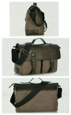 tas selempang pria/tas kerja/tas laptop/slingbag kulit import