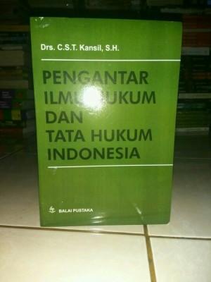 PENGANTAR ILMU HUKUM DAN TATA HUKUM INDONESIA