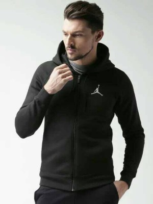 Jaket/Sweater/Hoodie Nike Black Men Flight Logo