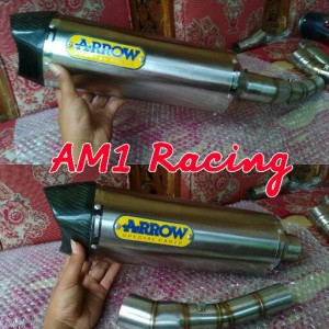 KNALPOT ARROW SLIP ON CBR 150R/CB 150R/NEW/FACELIFT/LOKAL/K45/DLL