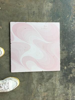 40x40 batavia illusion pink kw1