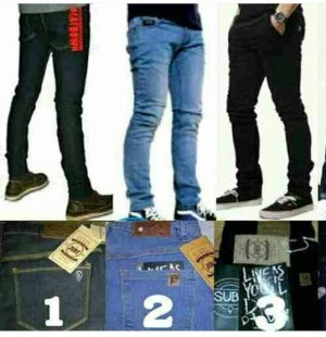 Celana Jeans Distro Peter Says Denim