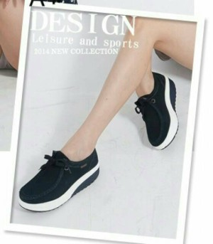 gibani sepatu olahraga wanita sport 012