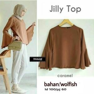 jilly blouse - tunik - top - atasan wanita - baju murah