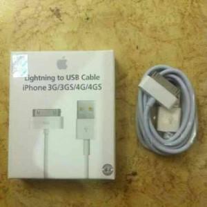 Kabel data original ori 100% iphone 3/3gs/4/4s/ipad2/3