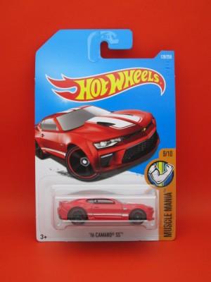 Hot Wheels '16 Camaro SS Red