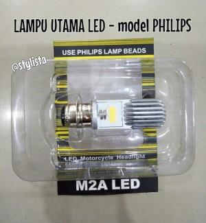 Lampu utama LED Model PHILIPS M2A kaki 1 -VARIO125