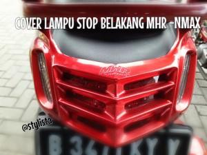 Pelindung / Tutup Cover lampu stop belakang MHR bahan ABS -NMAX