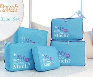 Travel organizer bag (3 tas / set)