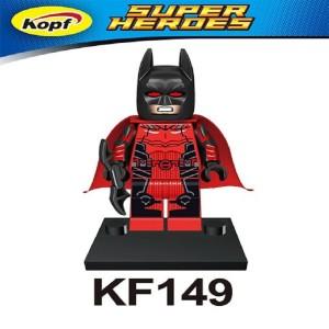 Batman Red Suit KF149 DC Super Heroes Minifigure Lego KW KF6003