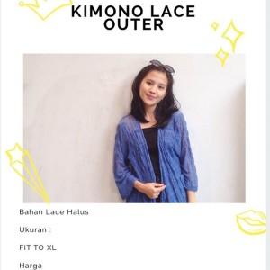 Kimono Lace Outer