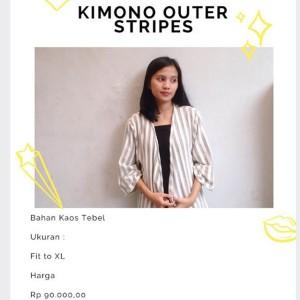 Kimono Outer Stripes