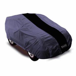 Cover Mantroll Mobil Mitsubhisi Kuda - Abu Strip Hitam