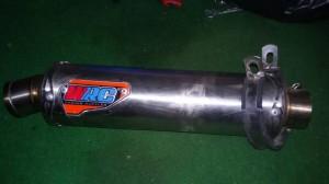 knalpot ninja 250r/fi,r25,cbr250rr steinless
