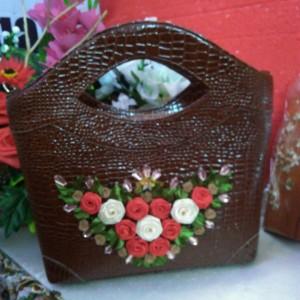 hand bag croco