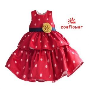 MUBP189 DRESS ZOE FLOWER 14-111