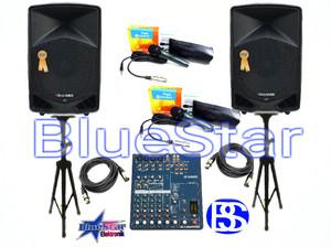 Paket Sound System Outdoor Indoor (15 inch) SoundClub SC 15MK