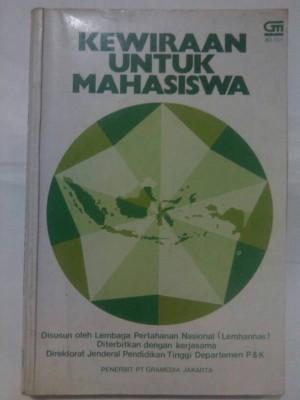 buku kewiraan untuk mahasiswa, buku bekas klasik jadul lama 1982