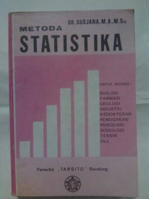 buku metoda statistika, buku klasik jadul lama 1982