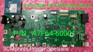HP Officejet Pro 8610 Formatter Logic Main Board A7f64-60001 PCA