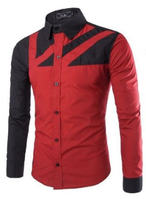 FG - [hem topmen OT] pakaian pria kemeja slim fit