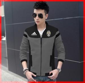 FG - [ Jaket Juventus CL ] pakaian pria jeket warna hitam dan misty SP