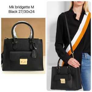 MK bridgette size medium in black