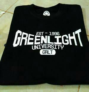 Tshirt Greenlight, Baju, kaos oblong pria Greenlight