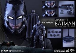 Hot Toys Armored Batman Black Chrome