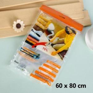 Vacuum storage bag Medium size 60x80 cm travel piknik koper liburan