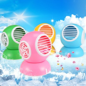 ac duduk mini fragrance fan USB Model Bulat New Design bladeless