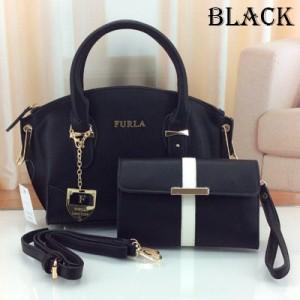 Furla Set 2 In 1 Black - FU3588