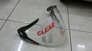 Kaca Helm NHK Gladiator Clear