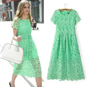 40496 LiGHT GReeN Lace (Size S)