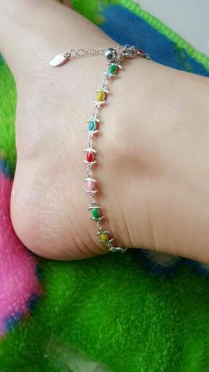 gelang kaki warna