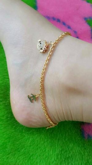 gelang kaki kitty