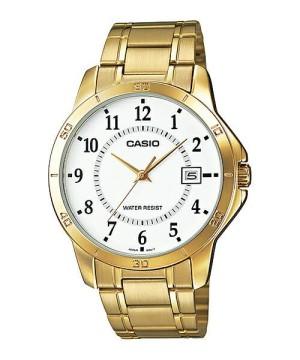 Jam tangan casio for man MTP-V004G-7B bisa couple LTP-V004G original